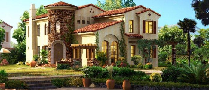 Какие загородные дома у известных людей