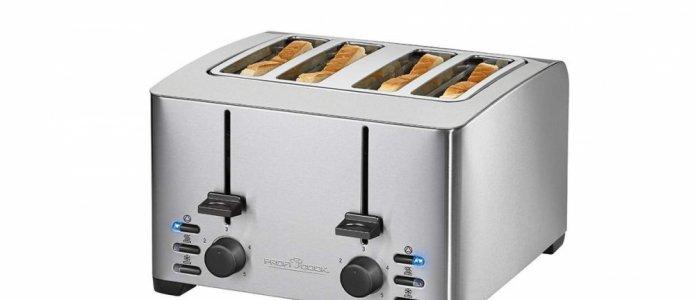 Плюсы и минусы тостера на 4 ломтика хлеба