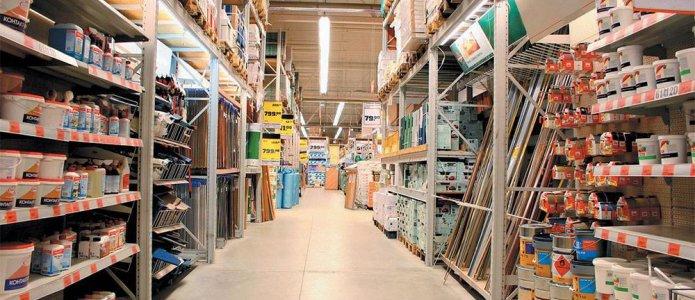 Выбор строительных материалов в магазинах